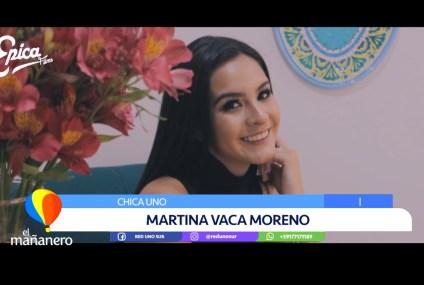 CHICA UNO: MARTINA VACA MORENO