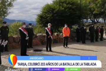 TARIJA CELEBRÓ 203 AÑOS DE LA BATALLA DE LA TABLADA