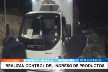 REALIZAN CONTROL DEL INGRESO DE PRODUCTOS