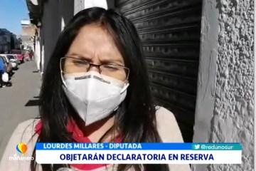 OBJETARÁN DECLARATORIA DE RESERVA EN CASO RESPIRADORES