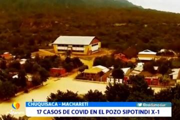 17 CASOS DE COVID EN EL POZO SIPOTINDI X-1