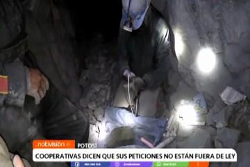 COOPERATIVAS DICEN QUE SUS PETICIONES NO ESTÁN FUERA DE LEY