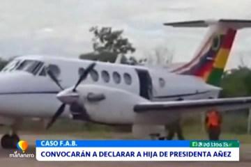 CONVOCARÁN A DECLARAR A HIJA DE PRESIDENTA ÁÑEZ