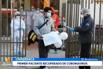 PRIMER PACIENTE RECUPERADO DE CORONAVIRUS EN EL DEPARTAMENTO