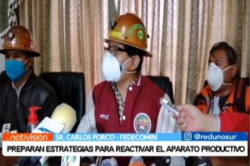 PREPARAN ESTRATEGIAS PARA REACTIVAR EL APARATO PRODUCTIVO