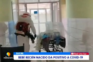 BEBÉ RECIÉN NACIDO DA POSITIVO A COVID 19