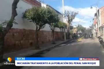 INICIARÁN TRATAMIENTOS A LA POBLACIÓN DEL PENAL DE SAN ROQUE