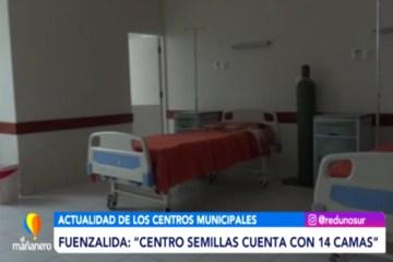 """FUENZALIDA: """"CENTRO SEMILLAS CUENTA CON 14 CAMAS"""""""