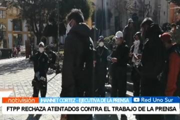 FTPP RECHAZA ATENTADOS CONTRA EL TRABAJO DE LA PRENSA