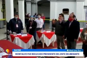 OMAR MONTALVO FUE REELEGIDO PRESIDENTE DEL ENTE DELIBERANTE
