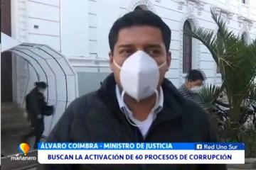BUSCAN LA ACTIVACIÓN DE 60 PROCESOS DE CORRUPCIÓN