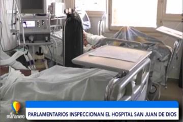 PARLAMENTARIOS INSPECCIONAN EL HOSPITAL SAN JUAN DE DIOS