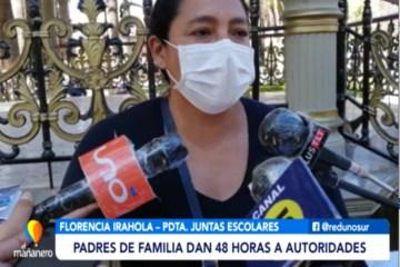 PADRES DE FAMILIA DAN 48 HORAS A AUTORIDADES PARA SER ATENDIDOS