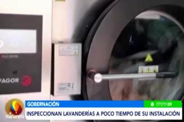 INSPECCIONAN LAVANDERÍAS DEL HOSPITAL SAN JUAN DE DIOS