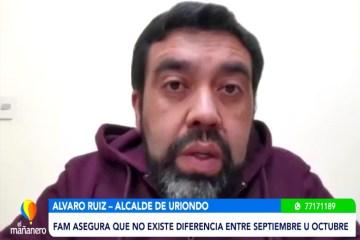ALCALDE DE URIONDO HABLA SOBRE EL CAMBIO DE FECHA DE ELECCIONES