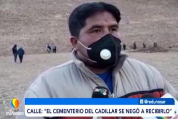 CONFLICTO EN CEMENTERIO POR EL PRIMER FALLECIDO EN COIMATA