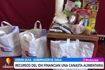 RECURSOS DEL IDH FINANCIAN LA CANASTA ALIMENTARIA