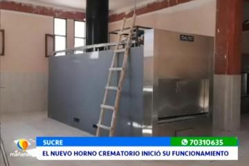 EL NUEVO HORNO CREMATORIO ENTRÓ EN FUNCIONAMIENTO