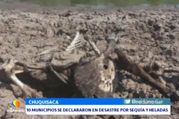 10 MUNICIPIOS SE DECLARARON EN DESASTRE POR SEQUIA Y HELADAS