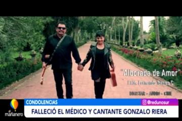 FALLECIÓ EL MÉDICO Y CANTANTE GONZALO RIERA