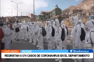 REGISTRAN 9.579 CASOS DE CORONAVIRUS EN EL DEPARTAMENTO