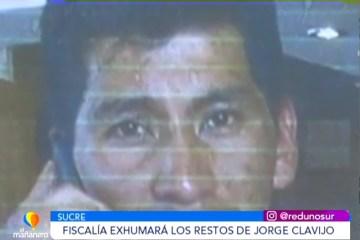 LA FISCALÍA EXHUMARÁ LOS RESTOS DEL TENIENTE JORGE CLAVIJO