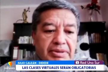 LAS CLASES VIRTUALES SERÁN OBLIGATORIAS