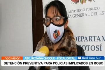 DETENCIÓN PREVENTIVA PARA POLICÍAS IMPLICADOS EN ROBO DE MINERAL