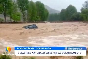 DESASTRES NATURALES AFECTAN AL DEPARTAMENTO