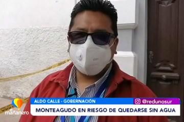 MONTEAGUDO EN RIESGO DE QUEDARSE SIN AGUA