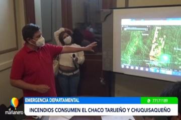 INCENDIOS CONSUMEN EL CHACO TARIJEÑO Y CHUQUISAQUEÑO