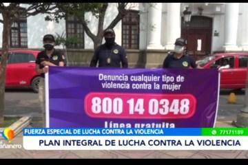 PLAN INTEGRAL DE LUCHA CONTRA LA VIOLENCIA