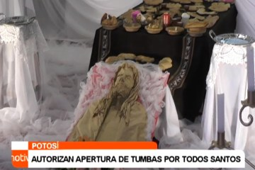 AUTORIZAN APERTURA DE TUMBAS POR TODOS SANTOS