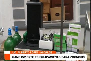 GAMP INVIERTE EN EQUIPAMIENTO PARA ZOONOSIS