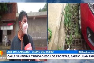 CALLE SANTÍSIMA TRINIDAD ESQ. LOS PROFETAS, BARRIO JUAN PABLO II