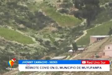 REBROTE COVID EN EL MUNICIPIO DE MUYUPAMPA