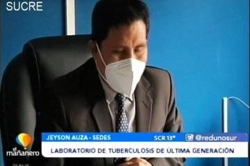 POSINOTICIA: LABORATORIOS DE TUBERCULOSIS DE ÚLTIMA GENERACIÓN