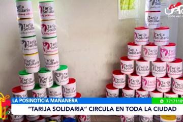 """POSINOTICIA: """"TARIJA SOLIDARIA"""" CIRCULA ENTODA LA CIUDAD"""