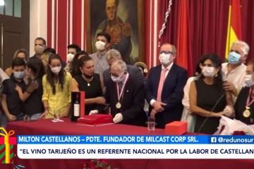 RECONOCIMIENTO A MILTON CASTELLANOS, FUNDADOR DE BODEGAS ARANJUEZ