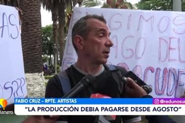 ARTISTAS EXIGEN EL PAGO DEL FONDO COMPROMETIDO POR LA GOBERNACIÓN
