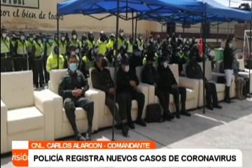 LA POLICÍA REGISTRA NUEVOS CASOS DE CORONAVIRUS