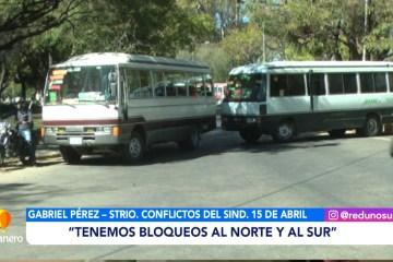 TRANSPORTE ACATA EL PARO NACIONAL DE 24 HORAS