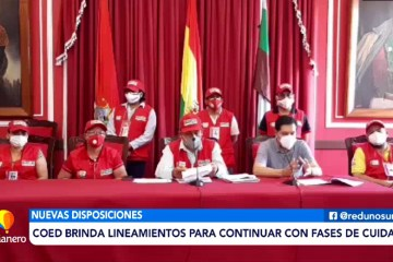 COED BRINDA LINEAMIENTOS PARA CONTINUAR CON FASES DE CUIDADO