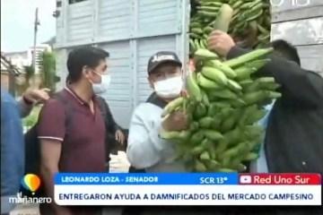 POSINOTICIA: ENTREGARON AYUDA A DAMINIFICADOS DEL MERCADO CAMPESINO