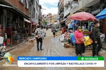 ENCAPSULAMIENTO EN EL MERCADO CAMPESINO POR LIMPIEZA Y RASTRILLAJE