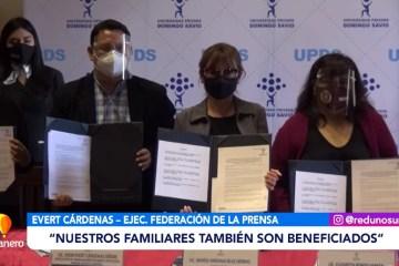 CONVENIO ENTRE LA UPDS Y FEDERACIÓN DE LA PRENSA