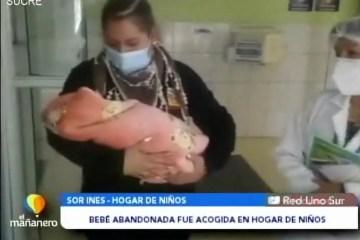 POSINOTICIA: BEBÉ ABANDONADA FUE ACOGIDA EN HOGAR DE NIÑOS