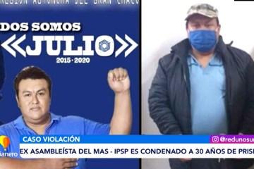 EX ASAMBLEÍSTA DEL MAS ES CONDENADO A 30 AÑOS DE PRISIÓN