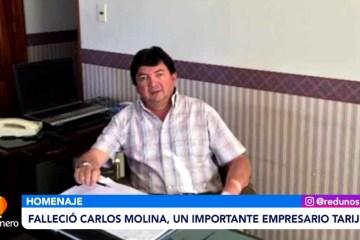 FALLECIÓ CARLOS MOLINA, UN RECONOCIDO EMPRESARIO TARIJEÑO