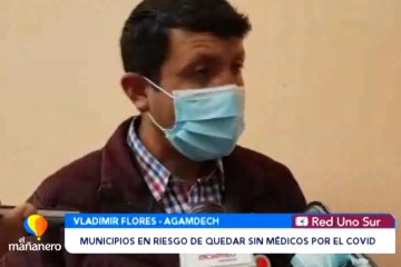 MUNICIPIOS EN RIESGO DE QUEDAR SIN PERSONAL MÉDICO POR EL COVID